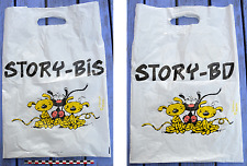 Sac publicitaire en plastique Marsupilami (Franquin), Story-BD Story Bis, 1998,