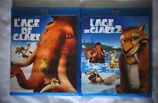 Lot L'âge de glace 1 & 2 - Blu-Ray Dreamworks