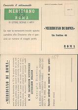 ROMA,IL MERIDIANO DI ROMA -F.G..LAZIO(RM)N.41032