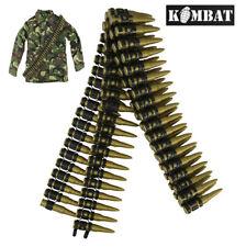 Linea di allarme SCALA 1//6TH WW2 rosso ufficiale dell/'esercito russo cintura e cinturino incrociato AL100024