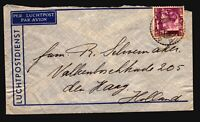 Netherlands Indies 1938 Airmail Cover to Holland - Z14946