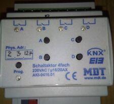 Attuatore Knx 4 canali mdt