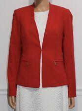 New Calvin Klein Blazer Jacket Red, Size 8, MSRP $129