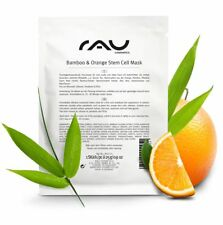 RAU Cosmetics Bamboo & Orange Stem Cell Mask feuchtigkeitsspendende Vliesmaske