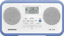 Sangean FM Stereo/AM Digital Tuning Portable Radio with Protective Bumper New