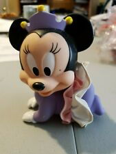 Vintage Disney Minnie Mouse Squeaker Toys Purple Princess Crown Skirt Baby