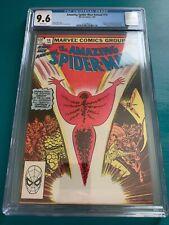 Amazing Spider-Man Annual #16 (1982) Origin & 1st app new Captain Marvel CGC 9.6