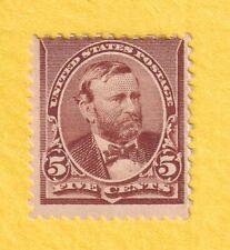 jis36 Us Stamp # 223 5c 1890 *Nint D/G Cv$185.00 1955ac