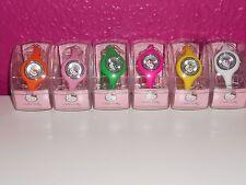 Hello Kitty Silikon Armbanduhr für Kinder ( in verschiedenen Farben )