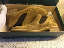 Paul Green Ladies Suede Brogue Style Boots
