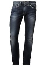 Pepe Jeans London KINGSTON ZIP Regular Jeans/Deep Shadow - 32/34 W13 WAS £90