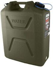 Contenedor de agua 2 LC industries bidones Militar Camping Nuevo Verde 5 Gal