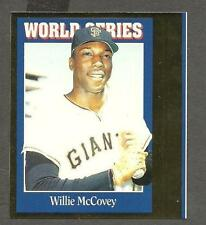 1992 Sports Cards Insert Proof Pair, Willie McCovey