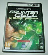 Tom Clancy´s Splinter Cell Chaos Theory PC (Edición española como nuevo)