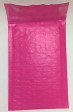 """QTY 5 #0 6"""" x 9"""" PINK Color Poly Bubble Mailers Self Seal Padded Envelopes"""