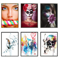 Girl Art Canvas Picture Paintings Prints Wall Decor Poster Unframed