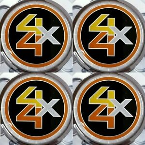 6-LUG CHEVROLET 6lug 1500 SILVERADO SUBURBAN BLAZER Wheel Center Cap 4X4 EMBLEM