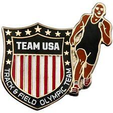 2012 London Olympics USA ATHLETICS TEAM PIN badge - Mint - Track and Field - MIP