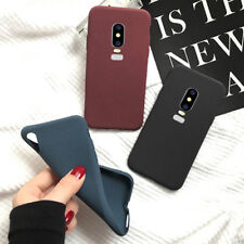 For OnePlus 6 5 5T 3T 3 Shockproof Slim Soft Silicone TPU Matte Back Case Cover
