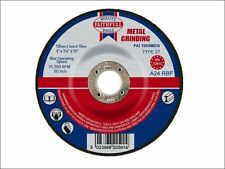 Faithfull - Grinding Disc for Metal Depressed Centre 100 x 5 x 16mm