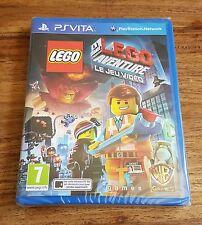 LEGO LA GRANDE AVENTURE Le Jeu Vidéo Jeu Sony Playstation PS VITA Neuf Blister