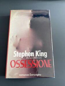 Stephen King OSSESSIONE Sonzogno 1a edizione settembre 1988