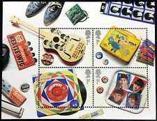 2007 GREAT BRITAIN BEATLES STAMPS SHEET OF 4 FAMOUS PEOPLE MUSICIANS MUSIC