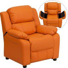 Flash Furniture Orange Kids Recliner, Orange - BT-7985-KID-ORANGE-GG
