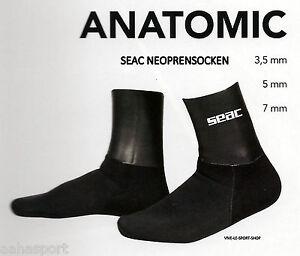 """#SEACSUB Neopren Socken """"ANATOMIC HD"""" 7 mm Gr.L+"""