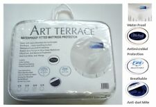 WaterProof Fully Fitted Mattress Protectors  - DB- Antibacterial Breatable