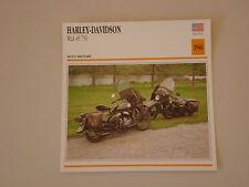 - scheda moto HARLEY DAVIDSON WLA 45 750 DEL 1946