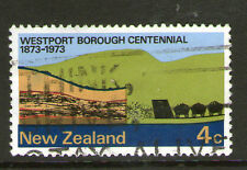 NEW ZEALAND 1973 WESTPORT COAL TRUCKS COMMEMORATIVE STAMP SG 998 VFU