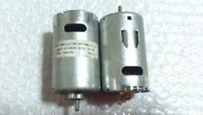 1pcs Used DC15V 5400RPM RS-555SH-2870 DC Motor for Electric Drill Toy Car Boat