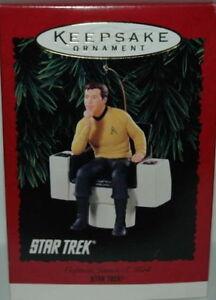 Hallmark Ornament STAR TREK 1995 Captain James Kirk Mint New in Box!