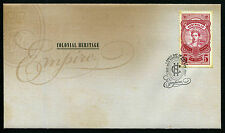 2010 Colonial Heritage Empire FDC First Day Cover Stamps Australia