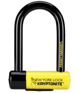 KRYPTONITE NEW YORK FAHGETTABOUDIT MINI LOCK BIKE SECURITY BICYCLE SCOOTER U D