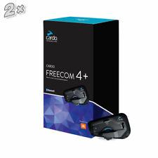 Cardo Freecom 4+ JBL Duo Box Bluetooth für Motorradhelme NEU++