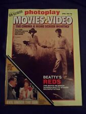 Vintage Photoplay Magazine - April 1982 - Beatty - Evil under the sun