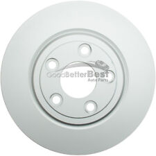 One New ATE Coated Disc Brake Rotor Rear 2411207708102 for Ford Jaguar Lincoln