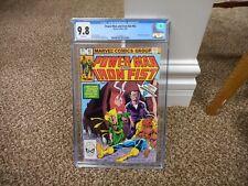 Power Man and Iron Fist 92 cgc 9.8 Marvel 1983 MINT WHITE pgs Hammerhead TV show