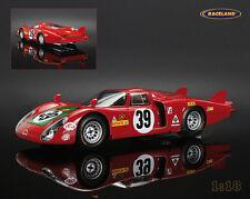 ALFA ROMEO 33/2 AUTO DELTA 4 ° Le Mans 1968 Giunti/Galli, Spark 1:18, 18s129
