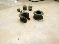 1978 YAMAHA DT 250 OEM REAR FENDER BUSHINGS/ FASTENERS