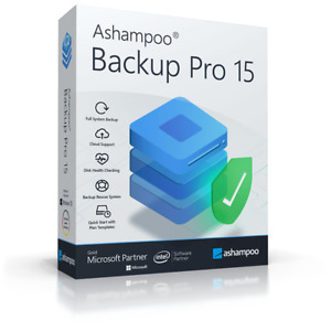 Ashampoo Backup Pro 15 (Windows 10) 1 PC
