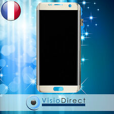 Ecran complet pour Samsung Galaxy S7 Edge G935F or vitre tactile+LCD+châssis