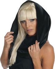 Morris Costumes Accessories & Makeup Lady Gaga Black Headscarf. RU9940