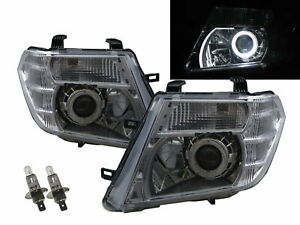 PATHFINDER R51 09-15 Facelift 5D Guide LED Angel-Eye Headlight CH for NISSAN LHD