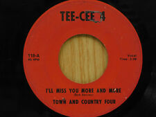Bob Bailey 45 I`LL MISS YOU MORE / SAXY GUITAR ~ Tee-Cee 4 VG