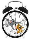 Tom and Jerry Alarm Desk Clock Home or Office Decor F58 Nice Gift