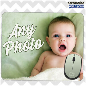 New Personalised Custom Your Picture Computer Mouse Mat Pad Extra Thick Rubber