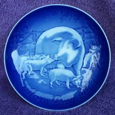 B&G Bing & Grondahl Mors Dag Mother's Day 2003 Sow & Piglets Plate